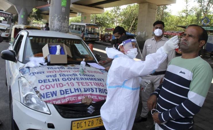 الهند تسجل 4454 حالة وفاة جديدة بفيروس كورونا